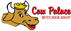 Cow Palace Butcher Shop Logo